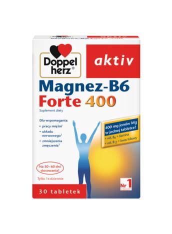 Doppelherz aktiv Magnez-B6 Forte 400