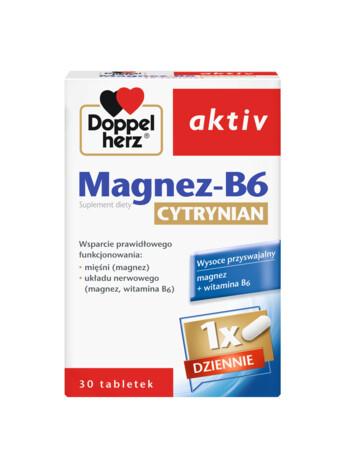 Doppelherz aktiv Magnez-B6 Cytrynian