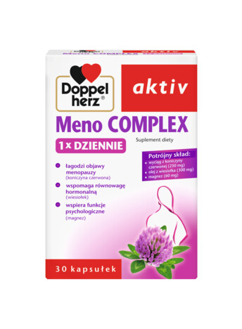 Doppelherz aktiv Meno COMPLEX 1x DZIENNIE