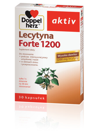 Doppelherz aktiv Lecytyna Forte 1200