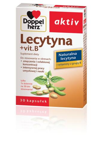 Doppelherz aktiv Lecytyna + vit. B