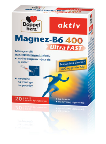 Doppelherz aktiv Magnez-B6 400 UltraFAST