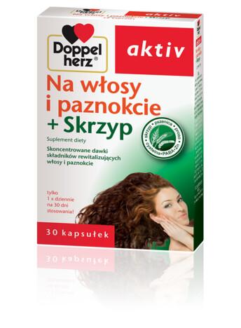 Doppelherz aktiv Na włosy i paznokcie + Skrzyp