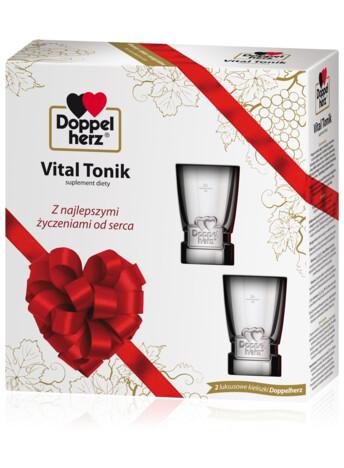 Doppelherz Vital Tonik - zestaw na prezent (750 ml)