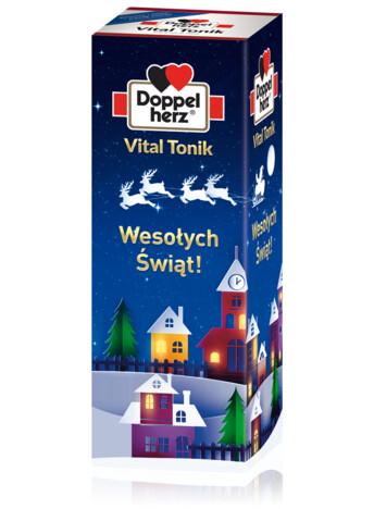 """Doppelherz Vital Tonik 1000 ml - """"Wesołych Świąt!"""""""