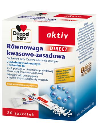 Doppelherz aktiv Równowaga kwasowo-zasadowa DIRECT