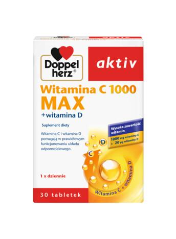 Witamina C 1000 MAX + witamina D