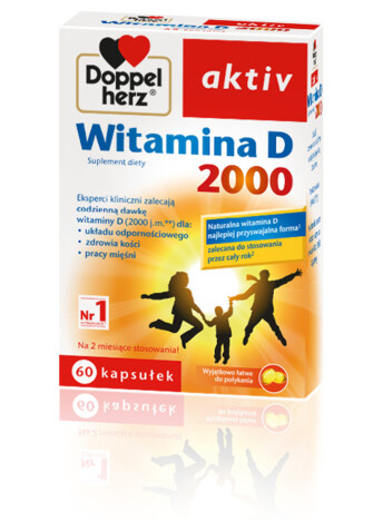 Doppelherz aktiv Witamina D 2000