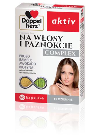 Doppelherz aktiv Na włosy i paznokcie COMPLEX