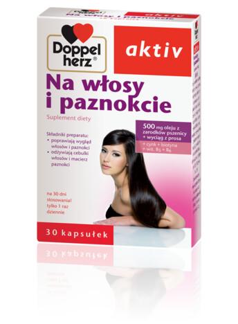 Doppelherz aktiv Na włosy i paznokcie
